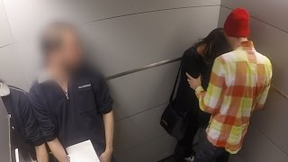 Abused in the elevator, you won't believe what happened next!