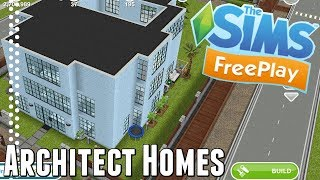 Sims Freeplay | Architect Homes Tour | April 2018