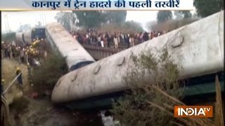 14 Coaches of Sealdah-Ajmer Express Train Derails near Kanpur