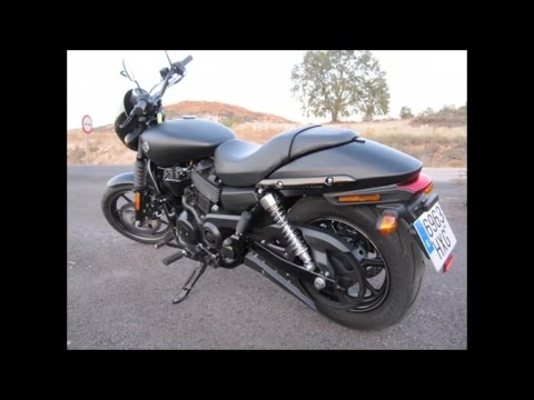 Harley-Davidson Street 750 - Prueba Portalmotos