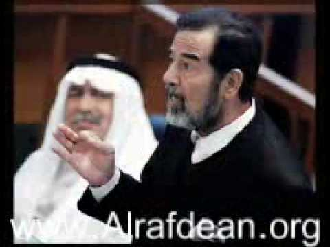 الرسالة الاخيرة من القائد صدام المجيد الى الشعب العربي