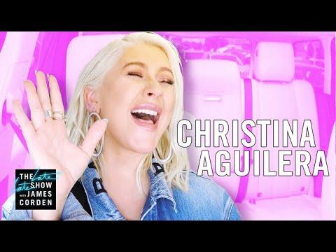 Christina Aguilera Carpool Karaoke - Extended Cut