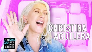 Download Lagu Christina Aguilera Carpool Karaoke - Extended Cut Gratis STAFABAND