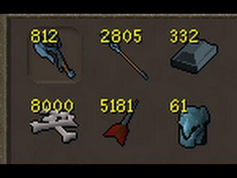 Loot from 8000 Mithril dragons