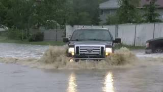 Dawson Creek Flood Footage