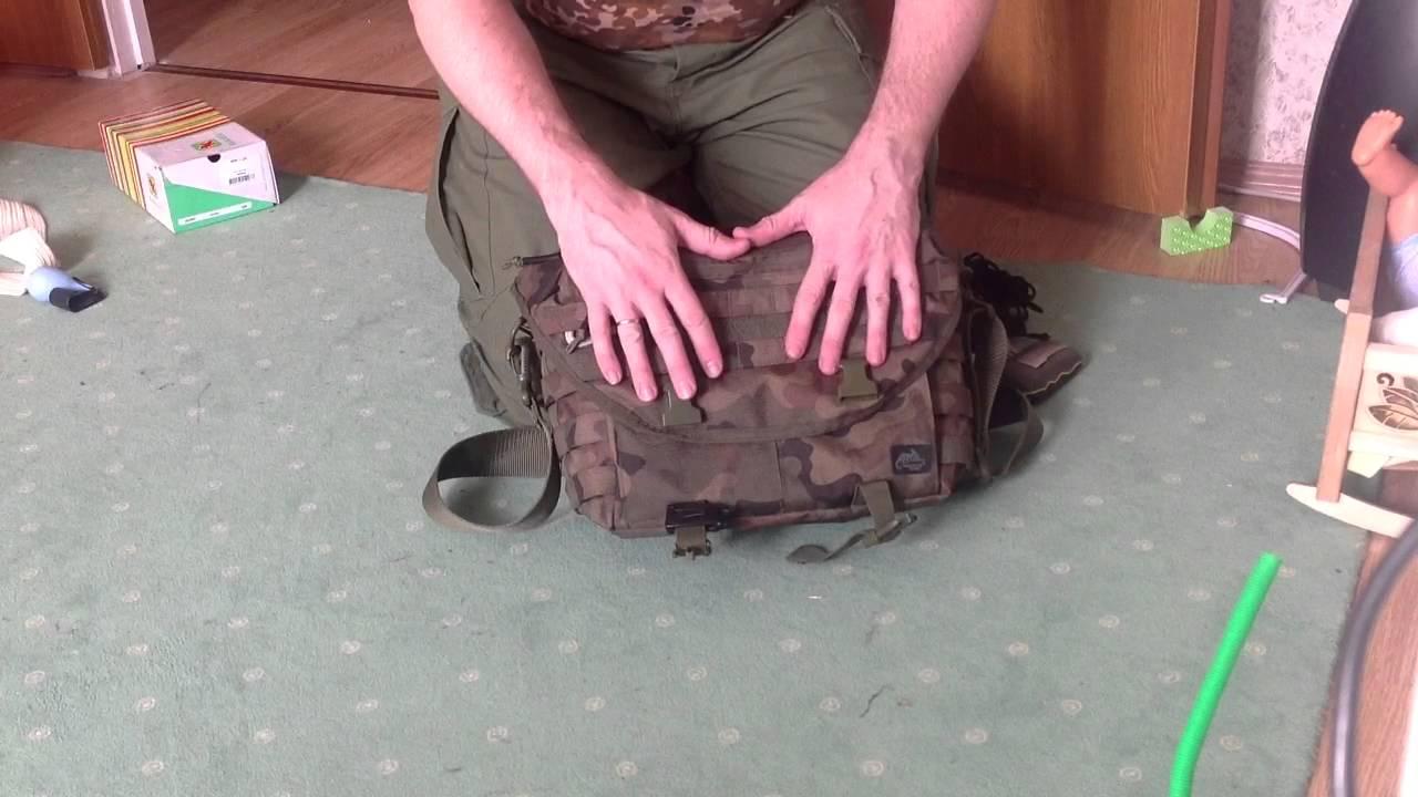 Helikon Wombat Tactical Molle Shoulder Bag 56