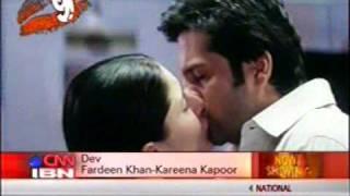 fardeen khan kissing kareena kapoor