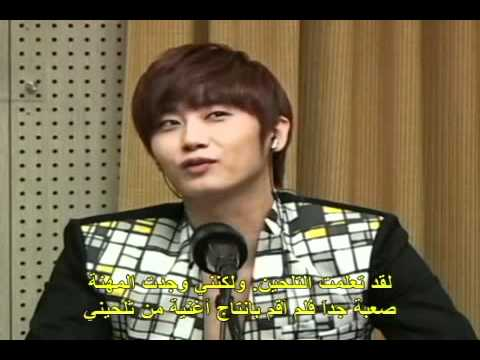 KBS World Arabic interview with Heo Young Saeng Part-1