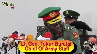 FULL VIDEO :FG Approves N2bn For Nigerian Army Varsity Take-Off