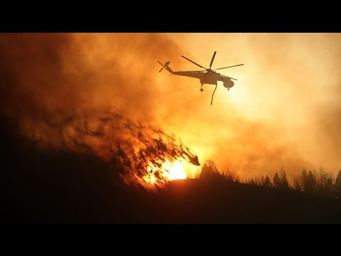 Wildfires force evacuations in Idaho and Utah