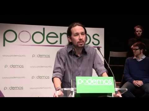 Pablo Iglesias presenta la iniciativa PODEMOS