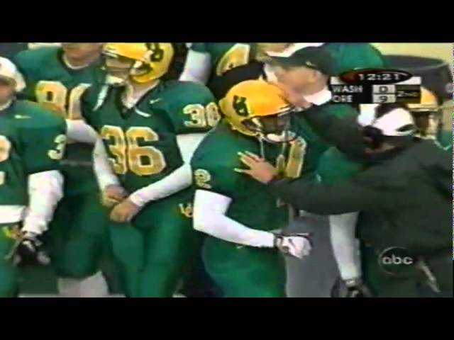 Oregon WR Tony Hartley 31 yard touchdown catch vs. UW 11-07-1998