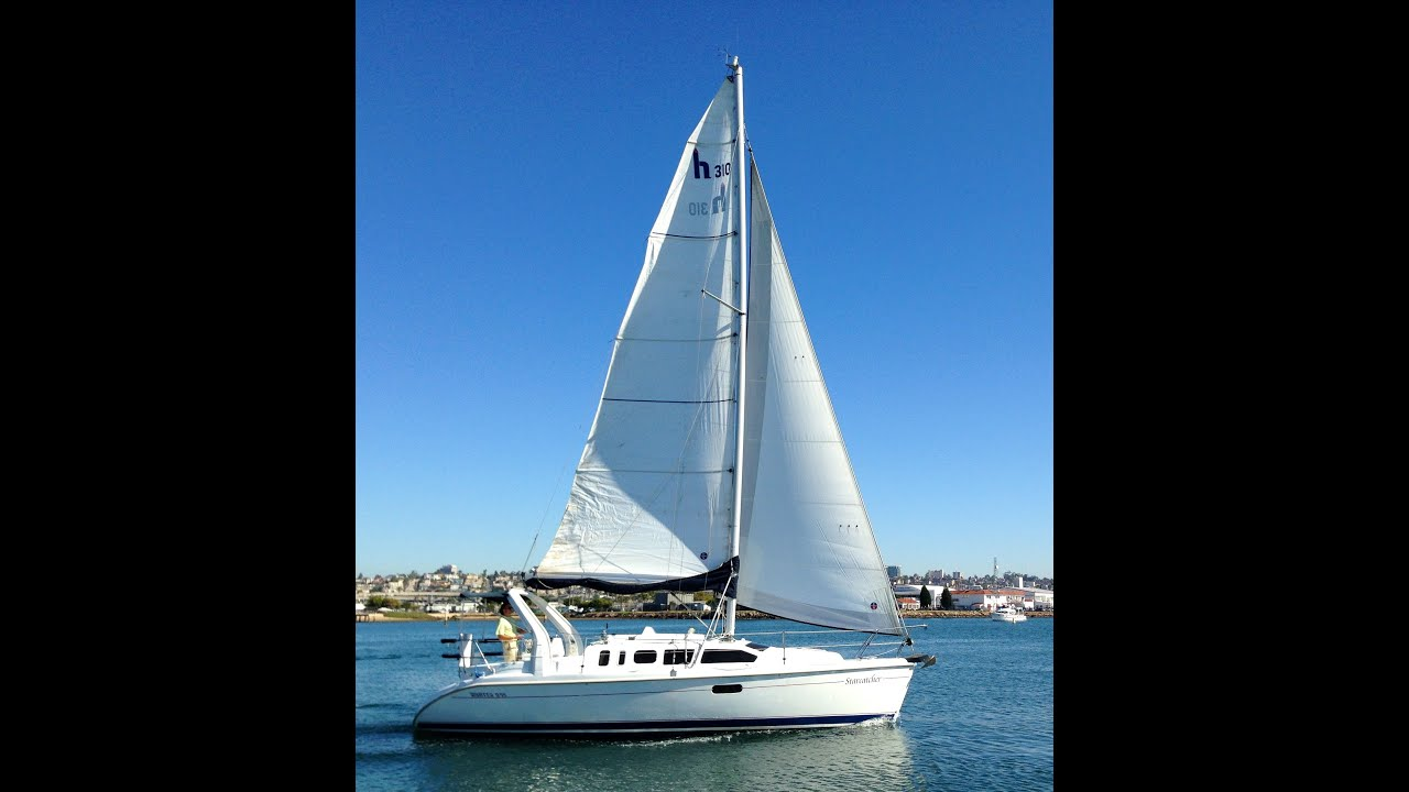 Hunter Day Facebook >> Hunter 310 Sailboat 1999 for sale in San Diego, California By: Ian Van Tuyl - YouTube