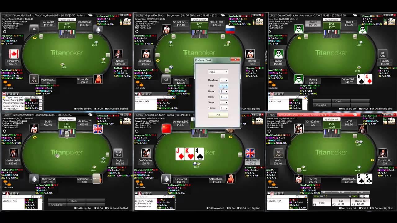короткий стол в игре в покер