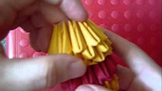 3d Origami Pooh Bear Part 1