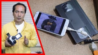Cómo Pasar un Video de VHS a la microSD en Android | Gadgets Fácil
