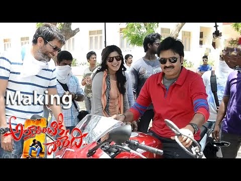Attarintiki Daredi Movie Making Scenes || Shopping Mall Fight Scene (Full HD). Photo,Image,Pics