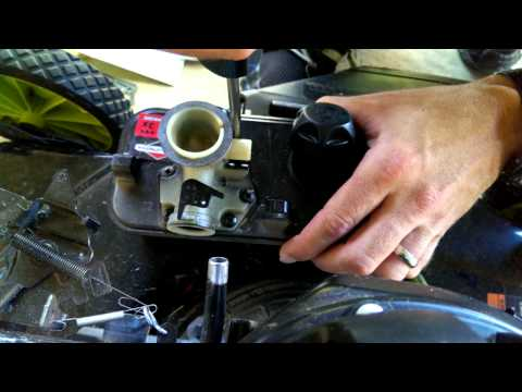 Briggs and Stratton lawnmower carburetor repair for surging engines Part 2