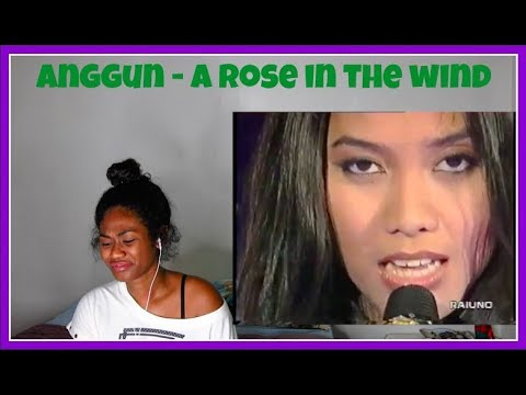 Anggun - A rose in the wind | Reaction