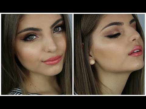 Dewy Summer Glow Makeup Tutorial