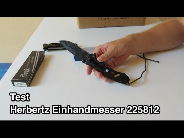 Test Herbertz Einhandmesser 225812 nanokultur.de