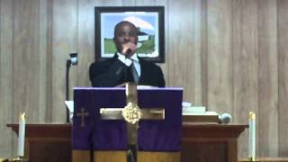 "Pastor Corey M. Lyons ""The funeral has just been canceled"" New Beginnings MBC 1/13/13"