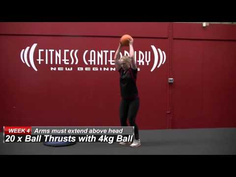 Fitness Canterbury Workout Of The Week - -Week 4