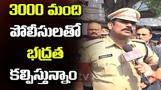 South Zone DCP Satyanarayana Over CC Cameras At Ganesh Nimajjanam | Tankbund | hmtv