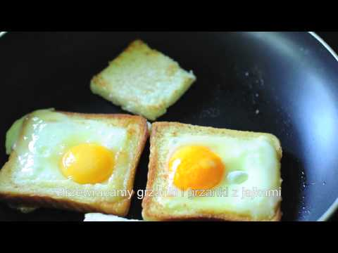 Jak Usmażyć Jajka Sadzone W Grzance