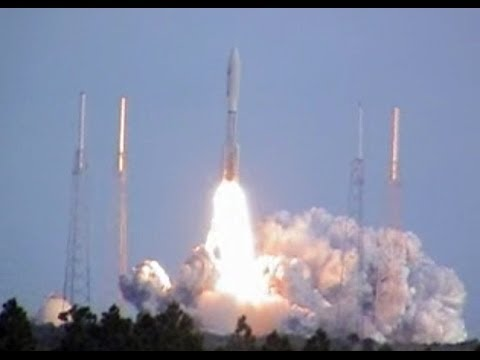 NASA's New Horizons Spacecraft Blasts Off On An Atlas Rocket On Its Way To Pluto
