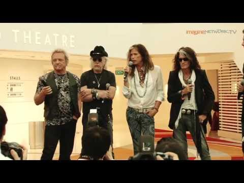 Aerosmith - Press Conference in Singapore Part 2 (Social Star Awards)