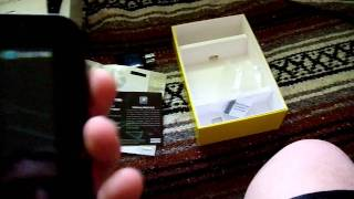 Unboxing my new Samsung Galaxy Tab :)