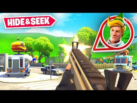 FIRST PERSON VIEW Hide & Seek in Fortnite! ft. Lachlan, Alex & Boomer
