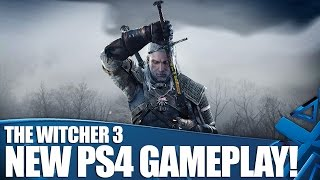 Геймплей PS 4 The Witcher 3: Wild Hunt