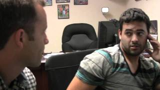 Ray Comfort -Behind The Scenes- 9/20/10
