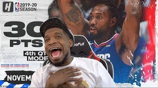 KAWHI JUST LOSE BRO DAMN! CLIPPERS vs JAZZ HIGHLIGHTS