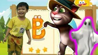 Bé học chữ cái tiếng Việt B C D với mèo talking tom hoạt hình vui nhộn Kênh trẻ em -video cho bé yêu