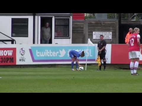 WFD - 10 Minute Spotlight 2013 Ft. Arsenal Ladies F.C v Birmingham City Ladies F.C FAWSL C/Cup