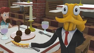 RESTAURANT DISASTER!! | Octodad