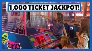 Ticket Jackpot 🎫 at Whipples Fun Center 🕹️