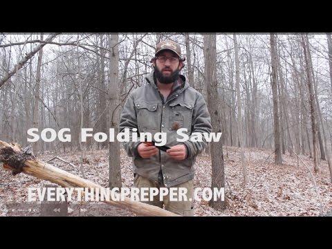 GEAR REVIEW: SOG Folding Saw