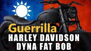 "Harley Davidson Dyna Fat Bob ""Dyna Guerrilla"" by Rough Crafts 
