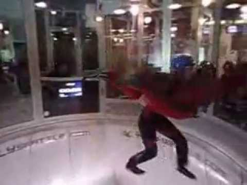 Ethan, Erin and myself at I Fly Indoor Skydiving, Seattle Wa., USA