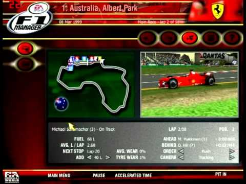 EA SPORTS - F1 Manager 2000