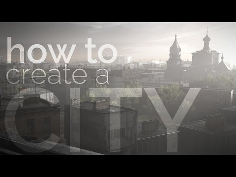 Blender tutorial: How to Create a City Covered with Fog