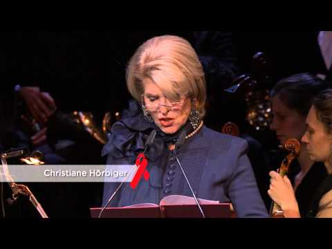 Red Ribbon Celebration Concert 2013, Burgtheater Wien