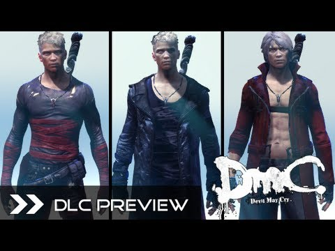 DmC Devil May Cry 2013 - All DLC Costumes for Xbox360, PS3 & PC (Neo, Dark, Classic Dante) HD Skins