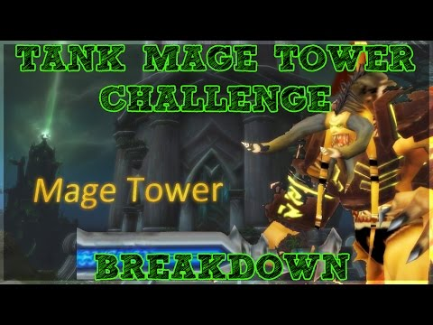 Tank Mage Tower Challenge! - Complete BREAKDOWN - Hidden Skin unlock