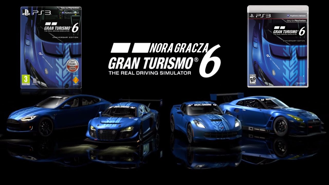 gran turismo 6 anniversary edition gameplay pl ps3. Black Bedroom Furniture Sets. Home Design Ideas