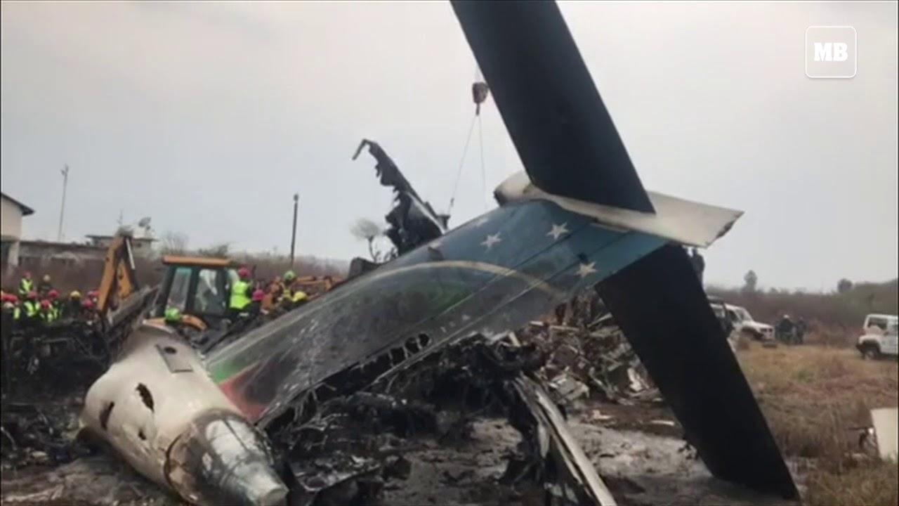 Kathmandu plane crash leaves dozens dead